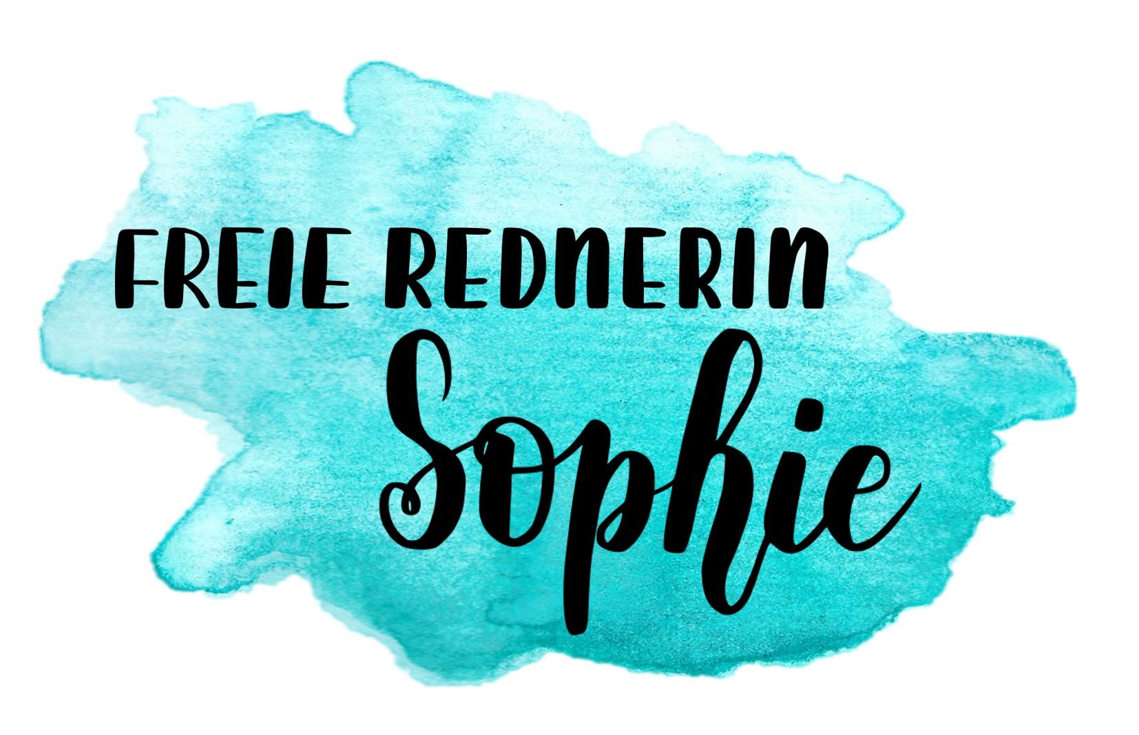 Freie Rednerin Sophie