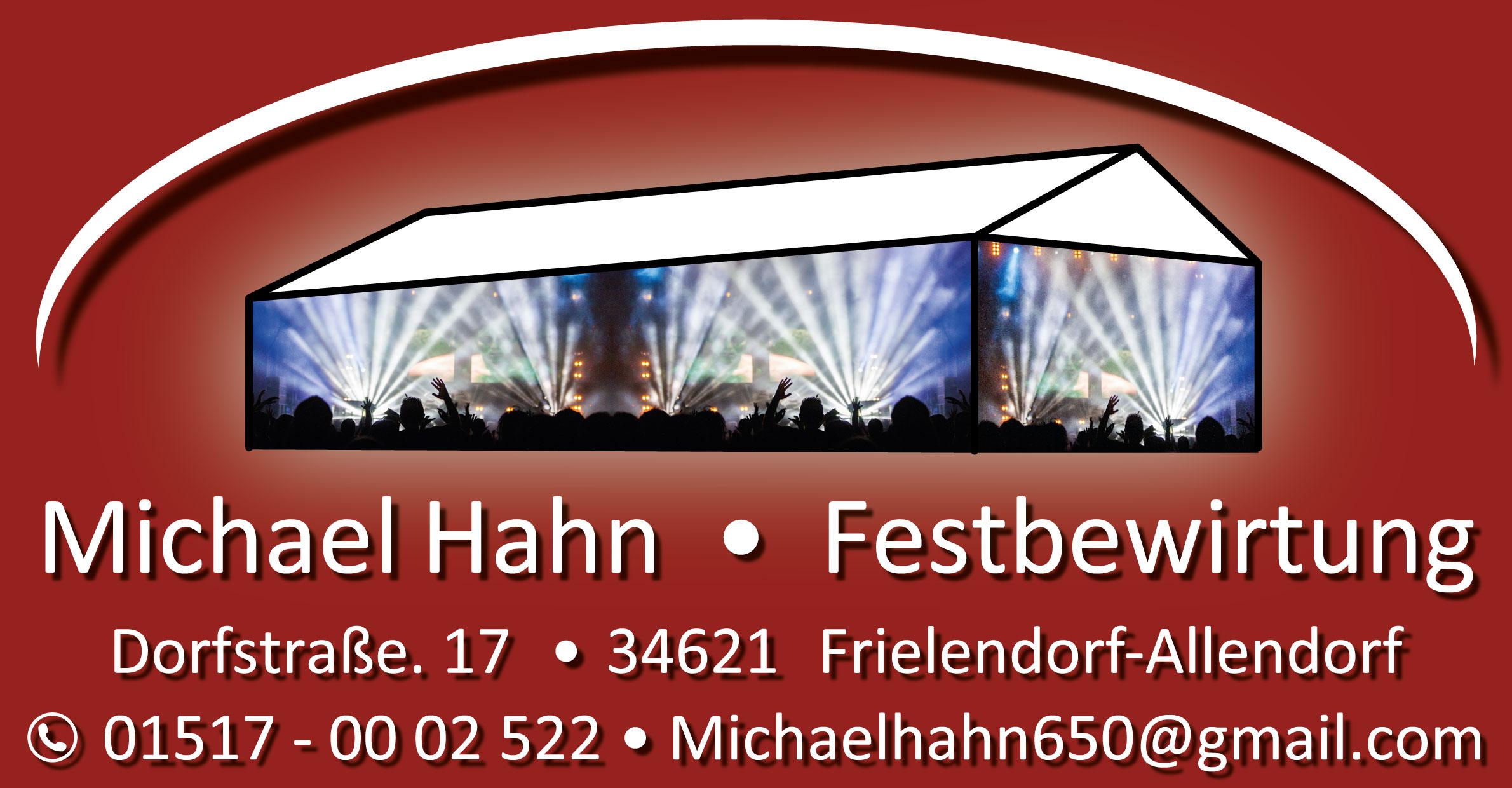 Michael Hahn-Festbewirtung